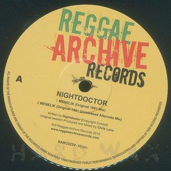 Cover art - Nightdoctor: Menelik