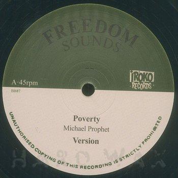 Cover art - Michael Prophet: Poverty