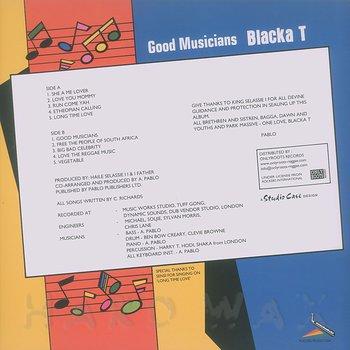 Cover art - Blacka T: Good Musicians