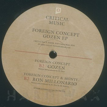 Cover art - Foreign Concept: Gozen