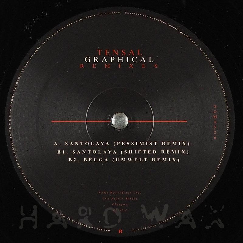 Cover art - Tensal: Graphical Remixes
