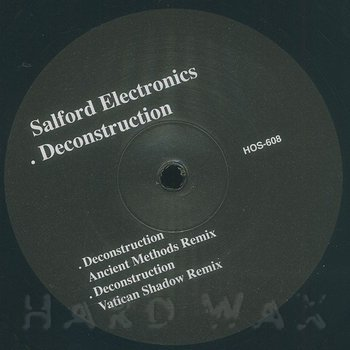 Cover art - Salford Electronics: Deconstruction