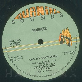 Cover art - The Maytones: Madness