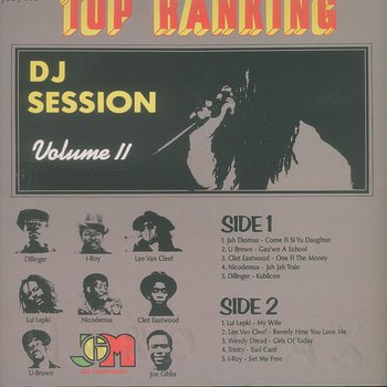 Cover art - Various Artists: Top Ranking DJ Session Volume 2