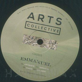 Cover art - Emmanuel: Oasis