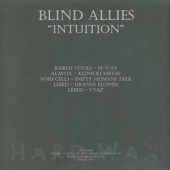 Cover art - Various Artists: Intuition