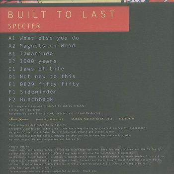 Cover art - Specter: Built To Last