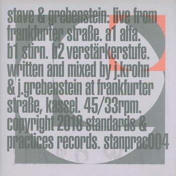 Cover art - Stave & Grebenstein: Live From Frankfurter Strasse