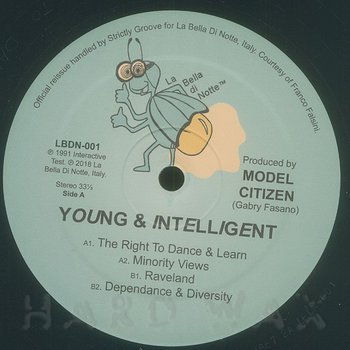 Cover art - Model Citizen: Young & Intelligent