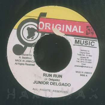 Cover art - Junior Delgado: Run Run
