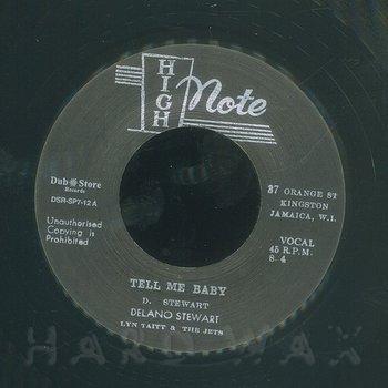 Cover art - Delano Stewart: Tell Me Baby