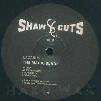 Cover art - Lazarus: The Magic Blade