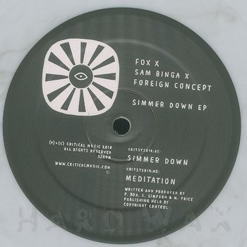 Cover art - Fox & Sam Binga & Foreign Concept: Simmer Down