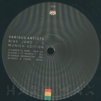 Cover art - Various Artists: Bias Jams - 3 Munich Edition