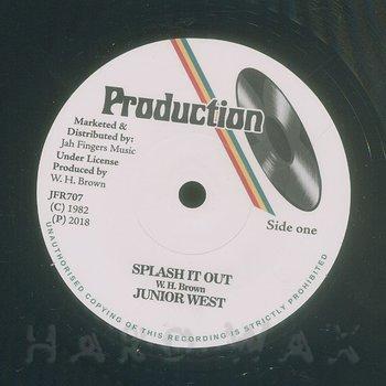 Cover art - Junior West: Splash It Out
