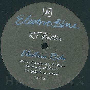 Cover art - R.T. Factor: Blue Twilight