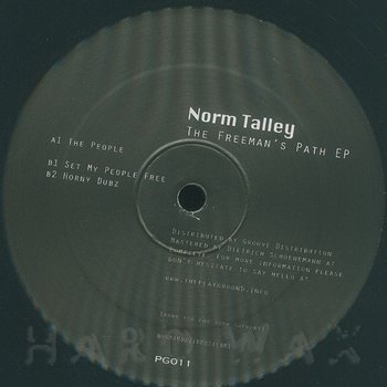 Cover art - Norm Talley: The Freeman's Path