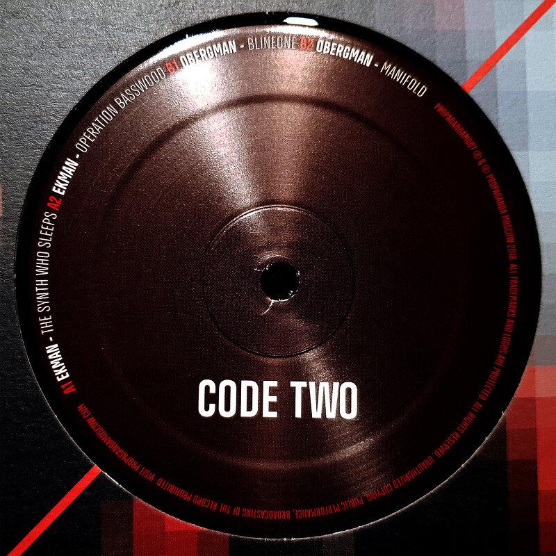 Cover art - Ekman / Obergman: Code Two