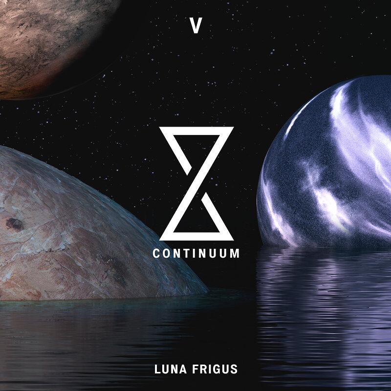 Cover art - Various Artists: Continuum 5: Luna Frigus