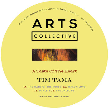 Cover art - Tim Tama: A Taste Of The Heart