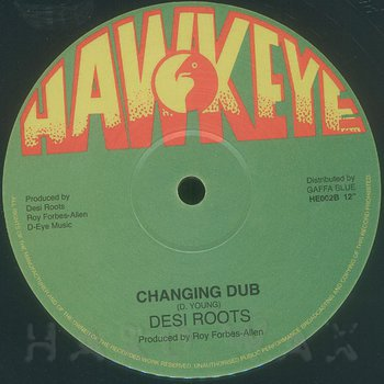 Cover art - Desi Roots: Changing