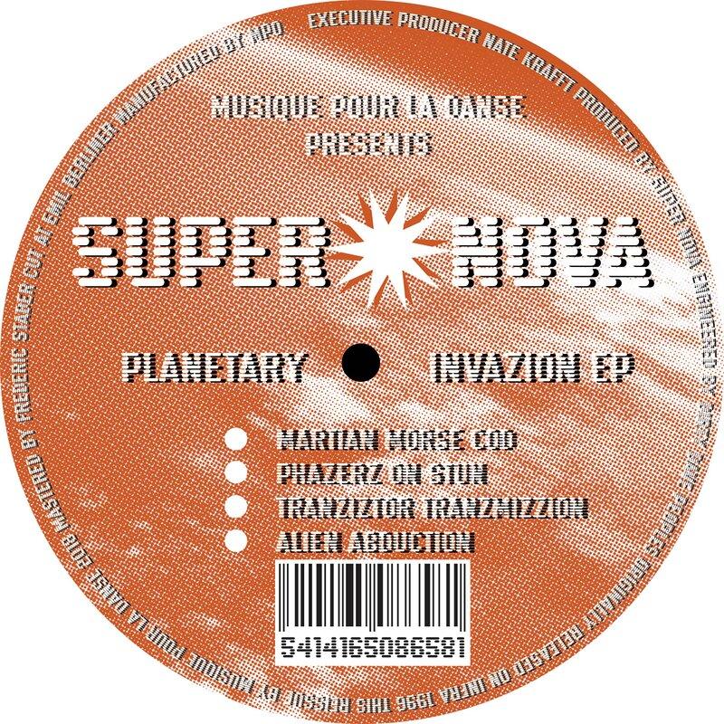 Cover art - Super Nova: Planetary Invazion