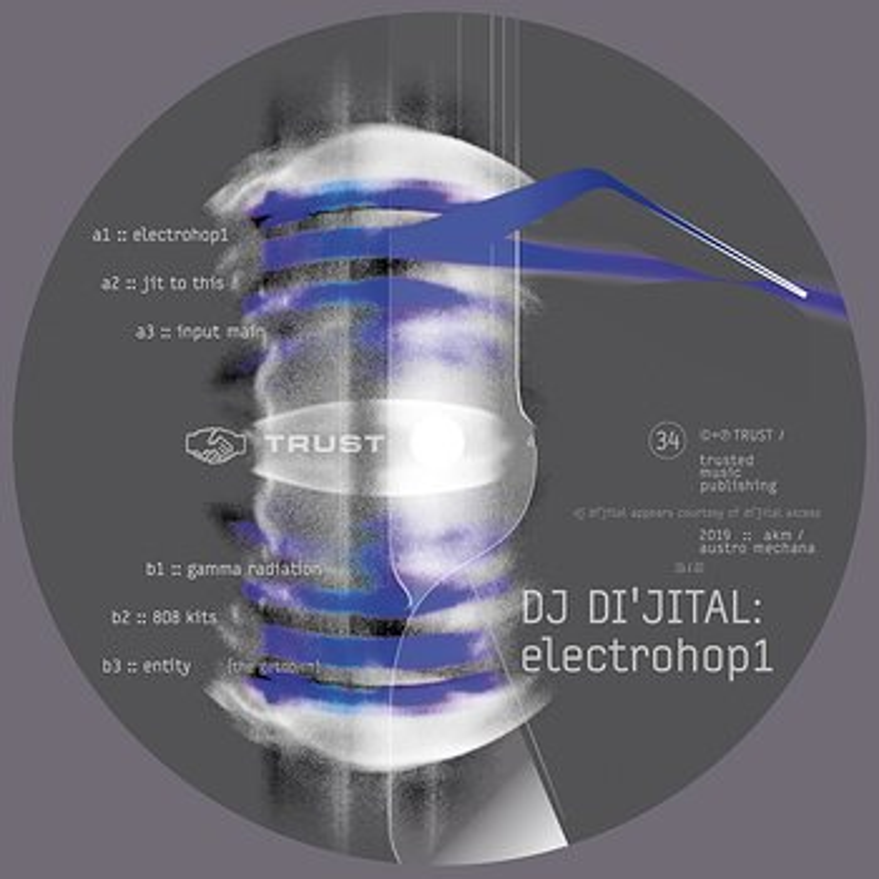 Cover art - DJ Di'jital: ElectroHop1