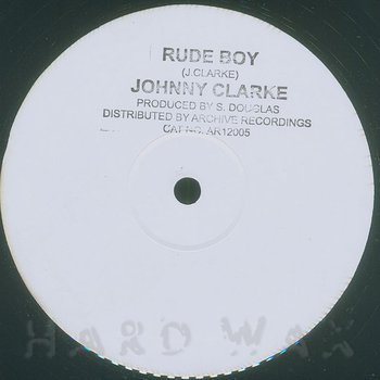Cover art - Johnny Clarke: Rude Boy