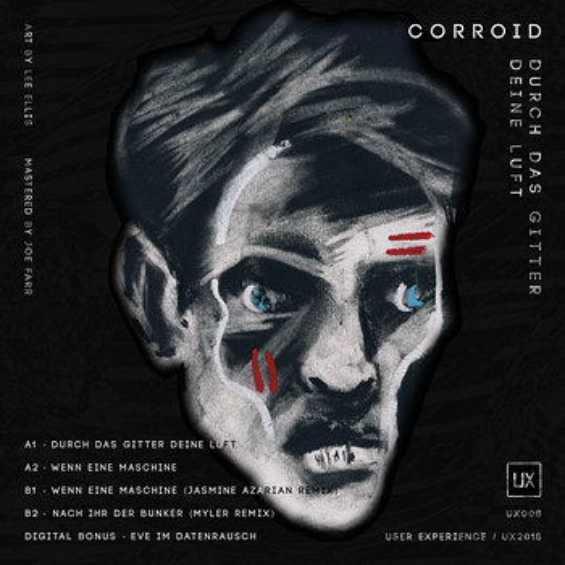 Cover art - Corroid: Durch Das Gitter Deine Luft