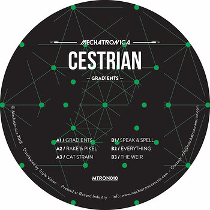Cover art - Cestrian: Gradients