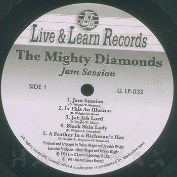 Cover art - Mighty Diamonds: Jam Session