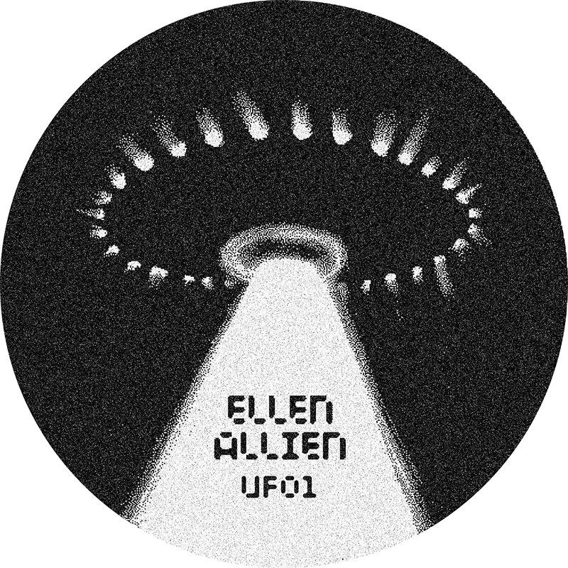 Cover art - Ellen Allien: UFO