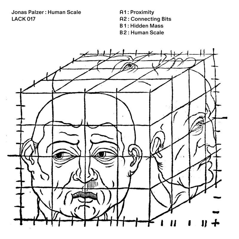 Cover art - Jonas Palzer: Human Scale