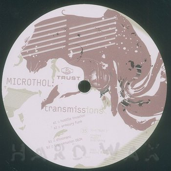 Cover art - Microthol: Transmissions