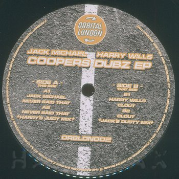 Cover art - Jack Michael / Harry Wills: Coopers Dubz