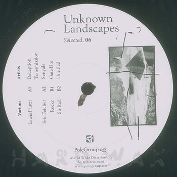 Cover art - Various Artists: Unknown Landscapes Selected 6