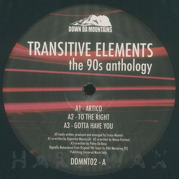 Cover art - Transitive Elements: The 90s Anthology A/B