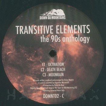 Cover art - Transitive Elements: The 90s Anthology C/D