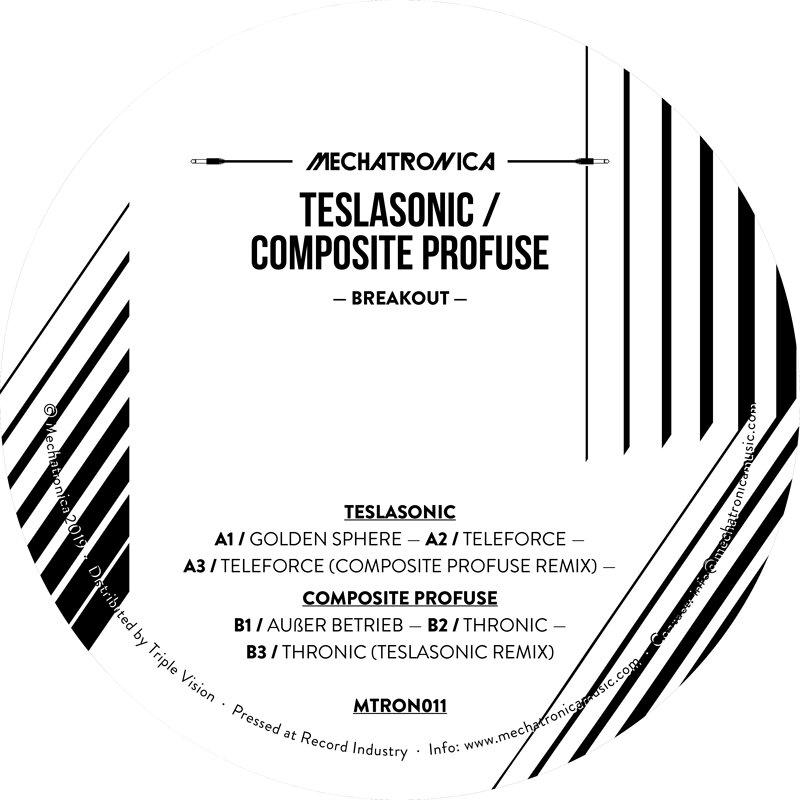 Cover art - Teslasonic / Composite Profuse: Breakout