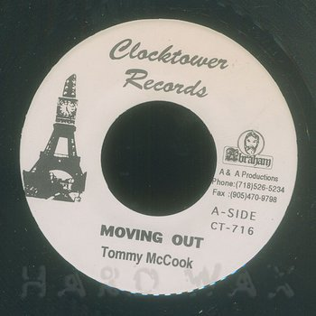 Cover art - Tommy McCook: Movin Out