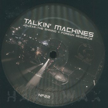Cover art - Jauzas The Shining & Foreign Sequence: Talking Machines