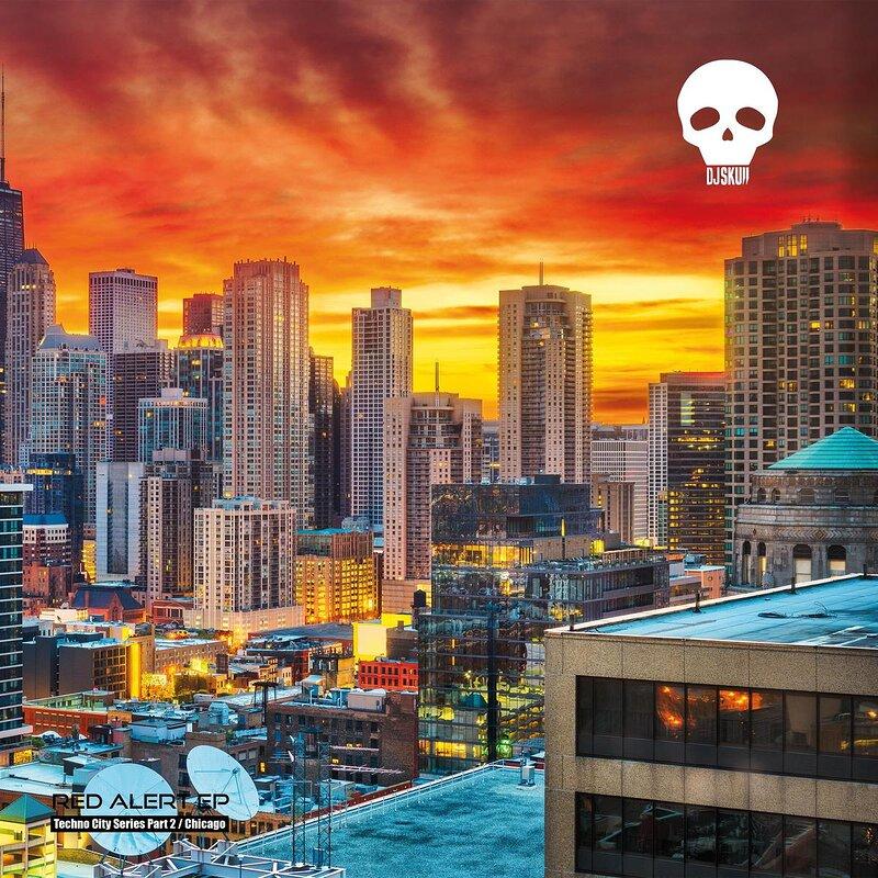 Cover art - DJ Skull: Red Alert (Techno City Series Part 2 / Chicago)