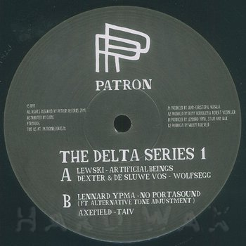 Cover art - Various Artists: The Delta Series 1