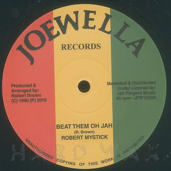 Cover art - Robert Mystick: Beat Them Oh Jah