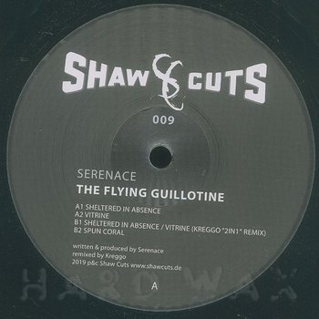 Cover art - Serenace: The Flying Guillotine