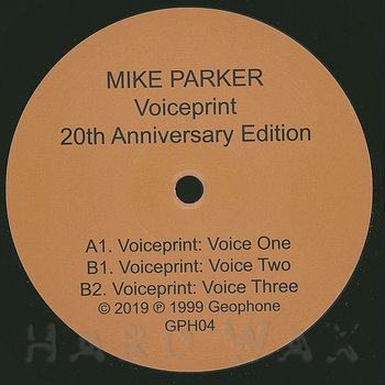 Cover art - Mike Parker: Voiceprint