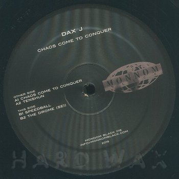 Cover art - Dax J: Chaos Come To Conquer