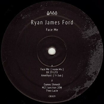Cover art - Ryan James Ford: Face Me