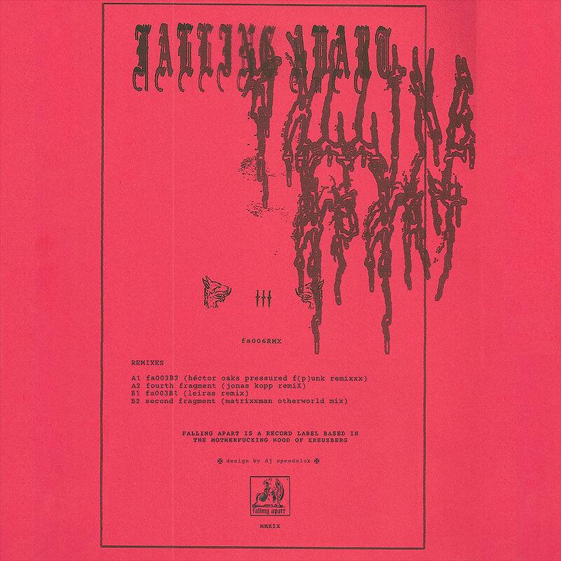 Cover art - Falling Apart: Remixes