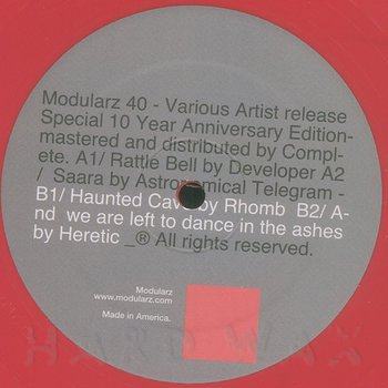 Cover art - Various Artists: 10 Year Anniversary